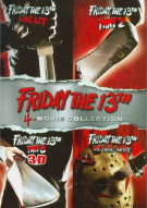 Friday The 13th: Deluxe Edition 4 Pack Movie