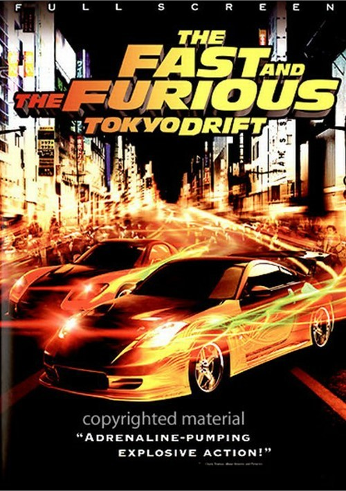Fast And The Furious, The: Tokyo Drift (Fullscreen) Movie