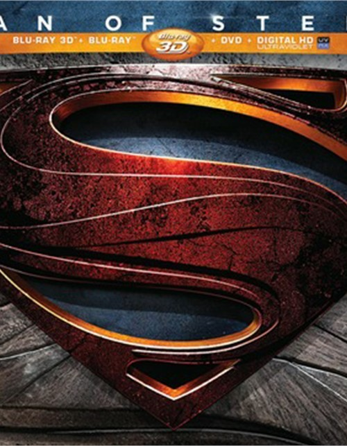 Man Of Steel 3D: Limited Collectors Edition (Blu-ray 3D + Blu-ray + DVD + Ultraviolet) Blu-ray