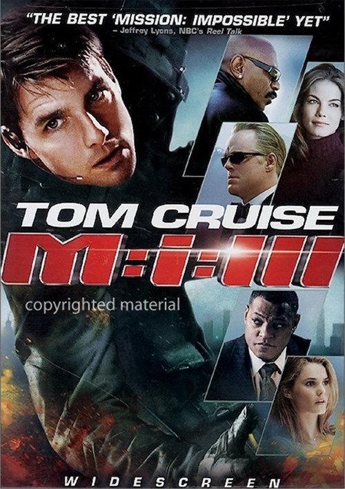 Mission: Impossible III (Widescreen) Movie