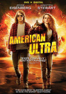 American Ultra (DVD + UltraViolet) Movie