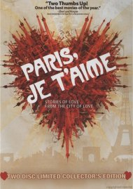 Paris, Je Taime: Two-Disc Limited Collectors Edition Movie