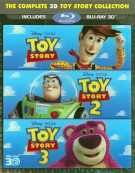 Complete 3D Toy Story Collection, The Blu-ray