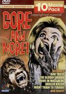 Gore & More 10 Movie Pack Movie