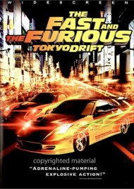 Fast And The Furious, The: Tokyo Drift (Widescreen) Movie