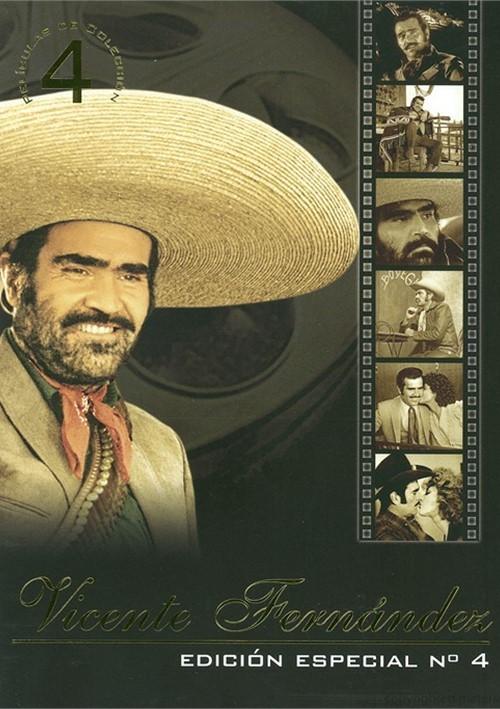 Vicente Fernandez: Edicion Especial No. 4 (4 Pack) Movie