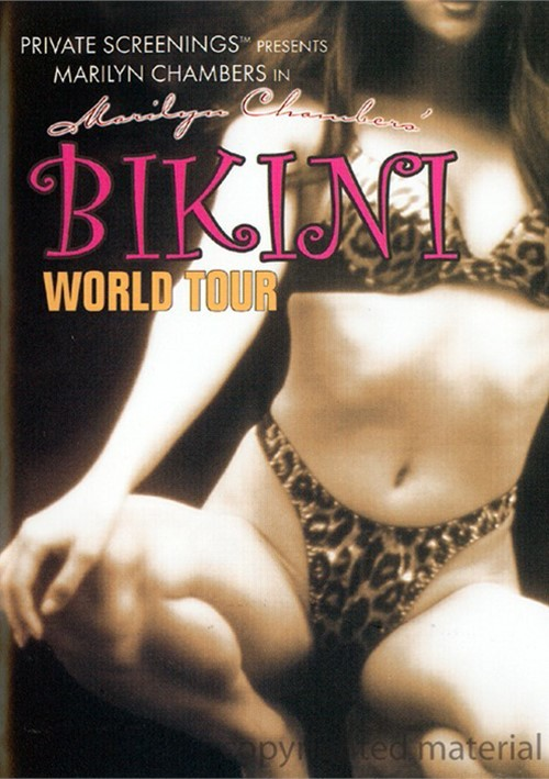 Marilyn Chambers Bikini World Tour Movie