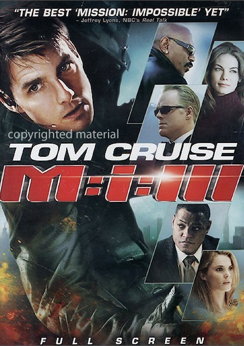 Mission: Impossible III (Fullscreen) Movie