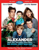 Alexander And The Terrible, Horrible, No Good, Very Bad Day (Blu-ray + Digital HD) Blu-ray