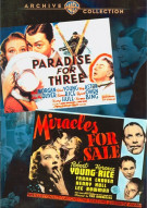 Paradise For Three / Miracles For Sale (Double Feature) Movie