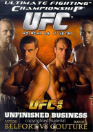UFC 49: Unfinished Business Movie