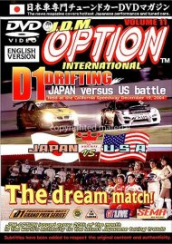 JDM Option International: Volume 11 - Japan Versus US Battle Movie