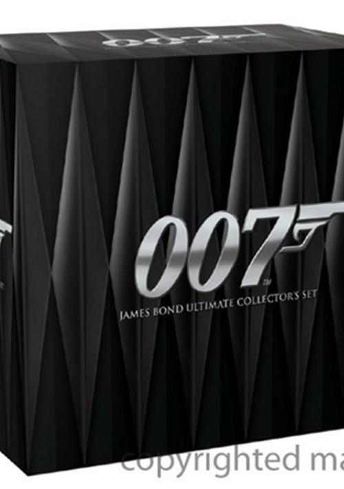 James Bond Ultimate Collectors Set Movie
