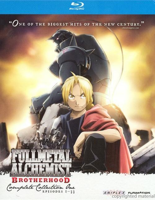 Full Metal Alchemist Brotherhood: Complete Collection One Blu-ray