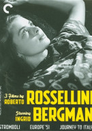 3 Films By Roberto Rossellini Starring Ingrid Bergman: The Criterion Collection Movie