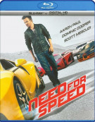 Need For Speed (Blu-ray + Digital HD) Blu-ray