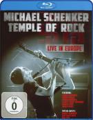 Michael Schenker: Temple Of Rock - Live In Europe Blu-ray