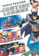 Justice League Triple Feature Movie