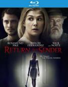 Return To Sender Blu-ray