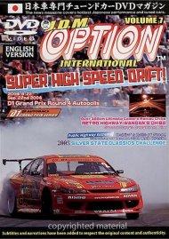 JDM Option International: Volume 7 - Super High Speed Drift Movie