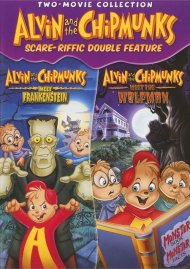 Alvin And The Chipmunks Scare-riffic Double Feature Movie