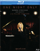 One Night Only: Barbra Streisand And Quartet At The Village Vanguard Blu-ray