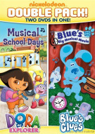 Dora & Blues Clues Double Feature: Dora Musical School Days & Blues Big Musical Movie Movie