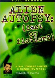 Alien Autopsy: Fact Or Fiction? Movie