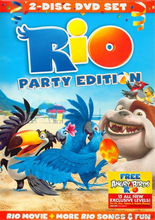 Rio Party Edition (2 Pack) Movie