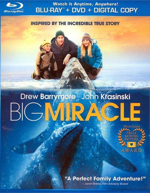 Big Miracle (Blu-ray + DVD + Digital Copy + UltraViolet) Blu-ray