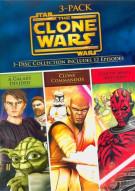 Star Wars: The Clone Wars Volumes - 3 Pack Movie