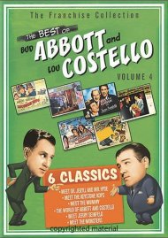 Best Of Bud Abbott And Lou Costello:  Volume 4 Movie