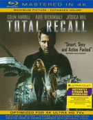 Total Recall: Extended Directors Cut (Blu-ray + UltraViolet) Blu-ray