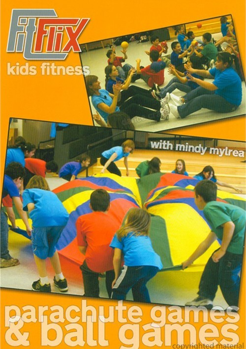 Mindy Mylrea: Parachute Games & Ball Games For Kids Movie