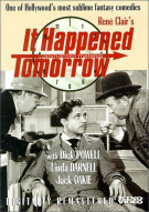 It Happened Tomorrow Movie