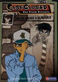 Case Closed: Season 3, Volume 2 - Death Wears A Blindfold Movie