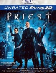 Priest 3D (Blu-ray 3D) Blu-ray