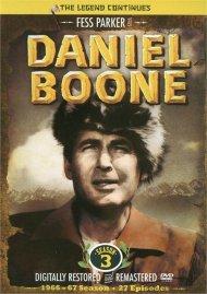 Daniel Boone: Season 3 Movie