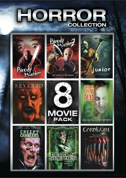 Horror Collection: 8 Movie Pack - Volume 2 Movie