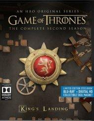 Game Of Thrones: The Complete Second Season (Steelbook + Blu-ray + Digital Copy) Blu-ray
