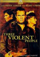 Three Violent People Movie