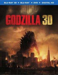 Godzilla (Blu-ray 3D + Blu-ray + DVD + UltraViolet) Blu-ray