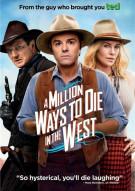 Million Ways To Die In The West Movie