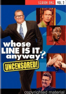 Whose Line Is It Anyway: Season One - Volume 2 (Uncensored) Movie