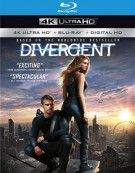 Divergent (Blu-ray + 4k + UltraViolet) Blu-ray