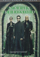 Matrix Reloaded, The (Fullscreen) Movie