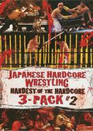 Japanese Hardcore Wrestling: Hardest Of The Hardcore 3 Pack #2 Movie