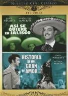Asi Se Quiere En Jalisco / Historia De Un Gran Amor (Double Feature) Movie