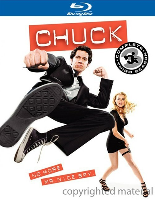 Chuck: The Complete Third Season Blu-ray