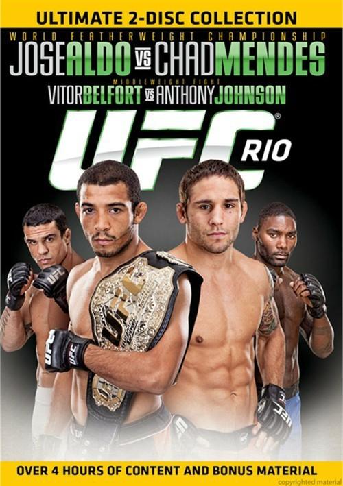 UFC 142: Aldo Vs. Mendes Movie